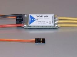 YGE 60A LV Regler Brushless ESC mit BEC 5.5V/3A