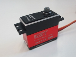 KST MS665 20mm 7.5kg HV digital narrow-band servo Heli-Hec..
