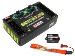 Jeti Central Box 200 mit Magnetschalter ohne Satelliten