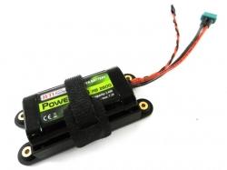 Power Ion RB 2600 7.2V Empfänger Akku inkl. Halterung von ..