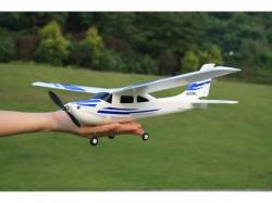 E-Do Model Mini Cessna Spw.550mm RTF, Blau