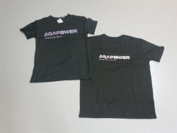 AGA-Power T-Shirt XL Schwarz