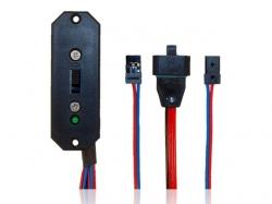 PowerSchalter mit Anschluss MPX/JR von Powerbox-Systems