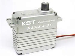 KST X25-8.4-55 55kg industrial servo 8.4V/0.12s Coreless