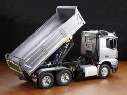Tamiya MB Arocs 3348 6x4 Tipper Truck & Actuator Set, RC-T..