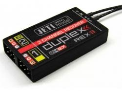 Jeti Rex 3 Empfänger Duplex 2.4EX 10cm Antenne