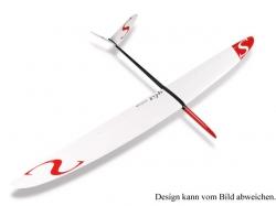 RCRCM Split V F3F CFK 2.84m Gelb/Schwarz Seglerversion mit..
