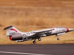 Freewing F-104 Starfighter Silber 90mm PNP 740mm EDF-Elekt..
