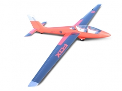 Tomahawk MDM-1 Fox 3.5m Rot/Schwarz Segler Voll Gfk ARF, R..