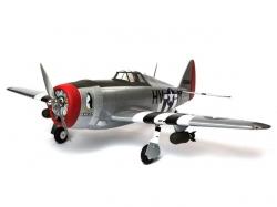 Hangar 9 P-47D Thunderbolt 20cc 1.7m ARF Elektro/Benzin