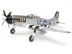 E-Flite P-51D Mustang 1.2m BNF mit AS3X und SafeSelect Tec..