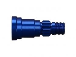 Traxxas 7768 Achsschenkel Aluminium (blau eloxiert) 1 Stk.