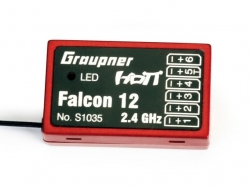 Graupner Gyro Empfänger HoTT Falcon 12, 6 Kanal