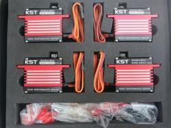 KST X20 V2 Combo Brushless Titan-Getriebe Heli-Servos