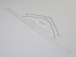 Stange-/Kabelsatz zu Clipped Wing Cub 1.2m von E-Flite