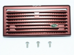 ALUMINUM FRONT GRILL Rotbraun/Rotbraun for Traxxas TRX-4 D..