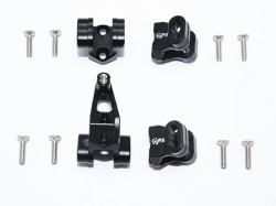 ALUMINUM FRONT/REAR AXLE MOUNT SET FOR SUSPENSION LINKS Sc..