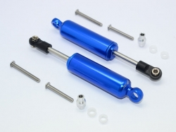 ALUMINIUM FRONT/REAR INTERNAL SHOCKS Blau for Traxxas TRX-..