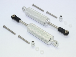 ALUMINIUM FRONT/REAR INTERNAL SHOCKS (RETICULATED PATTERN)..