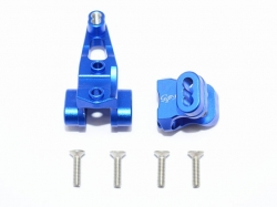 ALUMINUM FRONT AXLE MOUNT SET FOR SUSPENSION LINKS Blau fo..
