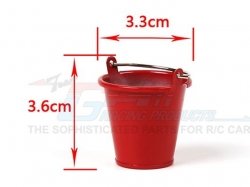 METAL WATER BUCKET FOR CRAWLERS (SMALL) von Roadtech