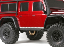 STAINLESS STEEL SLIP PROOF TREAD Body Sides 1/10 Traxxas T..