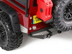 STAINLESS STEEL SLIP PROOF TREAD Rear Bumper 1/10 Traxxas ..