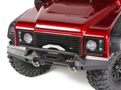 STAINLESS STEEL SLIP PROOF TREAD Front Bumper 1/10 Traxxas..
