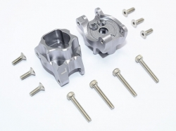 ALUMINUM REAR GEAR BOX MOUNTS Silvergrey 1/10 Traxxas TRX-..