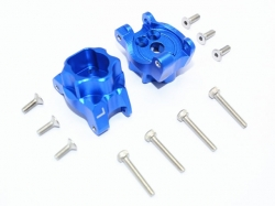 ALUMINUM REAR GEAR BOX MOUNTS Blue 1/10 Traxxas TRX-4 DEFE..