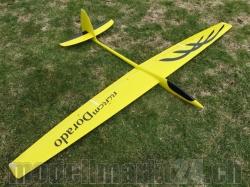 RCRCM Dorado Spw.2,34m CFK Gelb/Schwarz m. Schutztasche