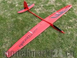 RCRCM Dorado Spw.2,34m GFK Rot/Schwarz m. Schutztasche