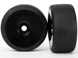 Traxxas 6473 Räder und Reifen, montiert, geklebt, Slick, H..