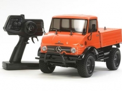 Tamiya Unimog 406 Orange CC-01 XB (Expert Built Pro) 2.4GH..