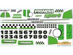 Panda Sport-Dekorbogen von Multiplex