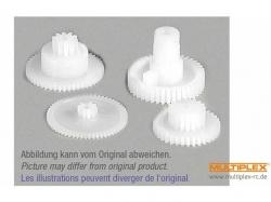 Zahnradsatz Servo Nano S von Multiplex