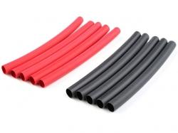 Schrumpfschlauch 4.7mm Rot und Schwarz 10Stk. von G-Force