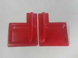 Servoabdeckungen 60x50 L/R mit Gestängeschutz Rot zu RCRCM..