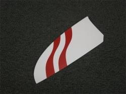Ersatz HLW Links RCRCM E-Tomcat oder Tomcat CFK Weiss/Rot