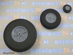 Räder D80x4 Breite=24mm (grau) Moosgummi 1Stk.