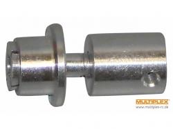 Multiplex Mitnehmer mit Spinner, Welle 4mm, Prop-B 8mm