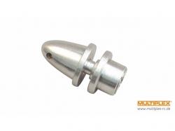 Multiplex Mitnehmer mit Spinner, Welle 3.2mm, Prop-B 6mm