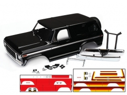 Traxxas 8010X, Karosserie, Ford Bronco, komplett (schwarz)