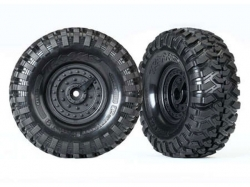 Traxxas 8273 Räder und Reifen, montiert, geklebt (TRX-4 Ta..
