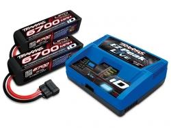 Traxxas Set EZ-Peak Live ID Bluetooth Ladegerät mit 2 Stk...