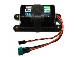 Power Ion RB 6200 7.2V Empfänger Akku inkl. Halterung von ..