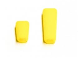 Schalterkappe für Jeti Sender- 1x lang, 1x kurz, gelb