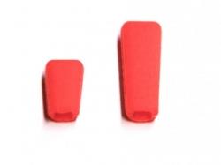 Schalterkappe für Jeti Sender- 1x lang, 1x kurz, rot
