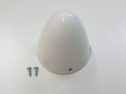 Reisenauer-Spinner-Kappe 50mm weiss