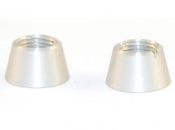 Jeti Ziermutter silber für JETI Handsender DS-16 - Oberseite